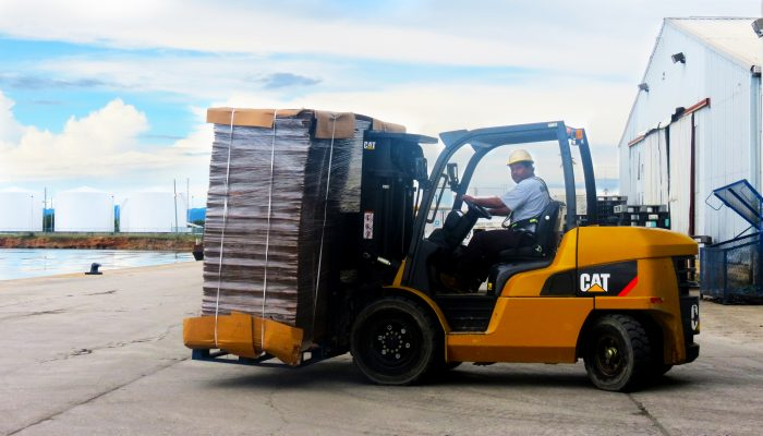 Forklift Operator at the Port of Big Creek
